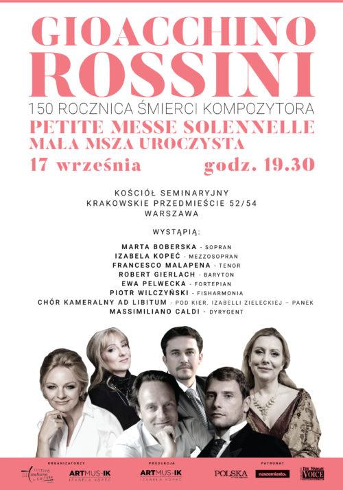 Petite Messe Solennelle – 150 rocznica śmierci kompozytora Gioachino Rossini