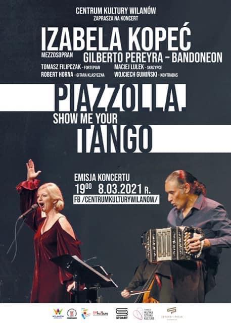 "Koncert ""Show Me Your Tango"" – Centrum Kultury Wilanów"